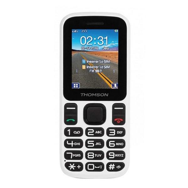 """Mobiltelefon für ältere Erwachsene Thomson TLINK T12 1,77"""" Bluetooth VGA FM Weiß"""