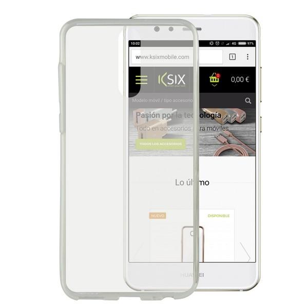 Handyhülle Huawei Mate 10 Lite Flex Ultrafina Durchsichtig