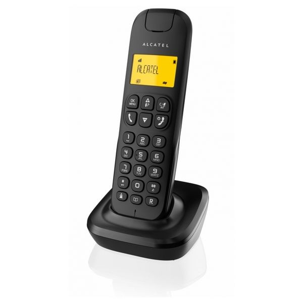 Kabelloses Telefon Alcatel D-135 DECT Schwarz