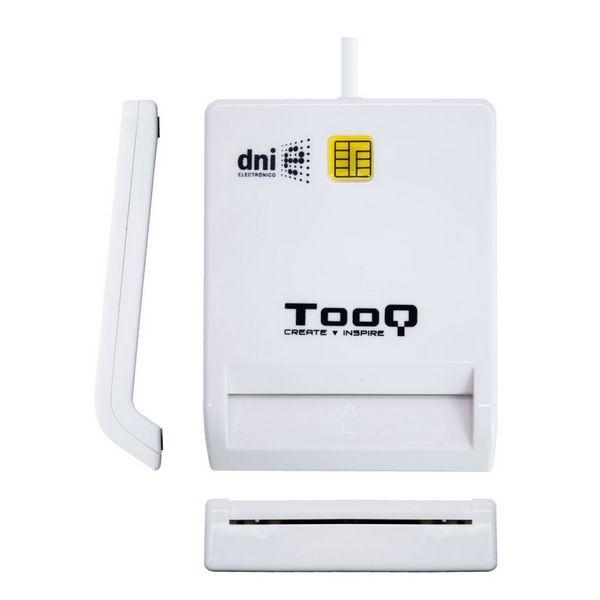 Smart Kartenlesegerät TooQ TQR-210W USB 2.0 Weiß