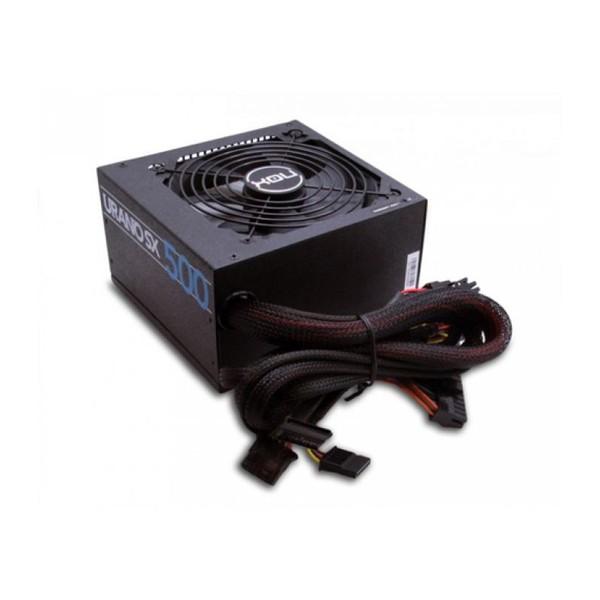 Stromquelle NOX NXURSX500 ATX 500W PFC Passiv Schwarz