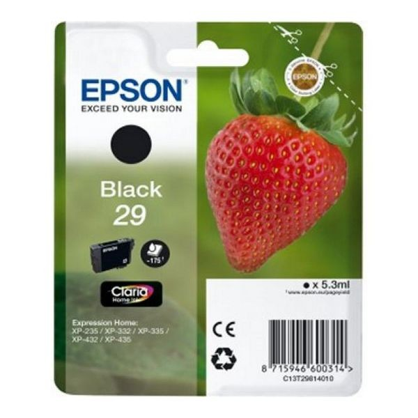Original Tintenpatrone Epson C13T298140 Schwarz