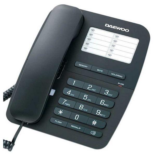 Kabelloses Telefon Daewoo DTC-240 Schwarz