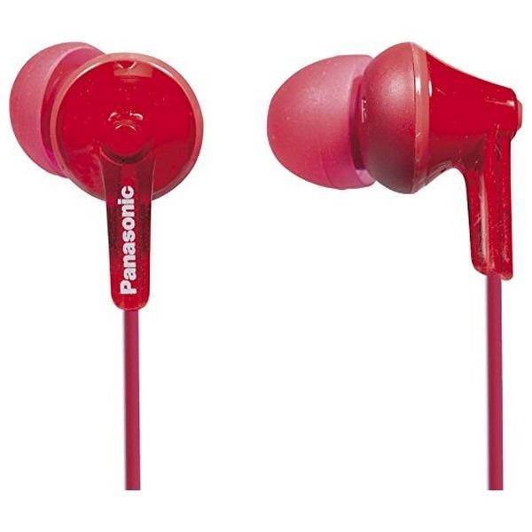 Kopfhörer Panasonic RP-HJE125E in-ear Rot