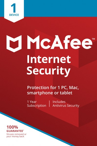 McAfee Internet Security BE (1D-1Y)