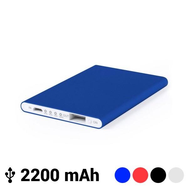 Power Bank Extra dünn mit Mircro USB 2200 mAh LED 145538