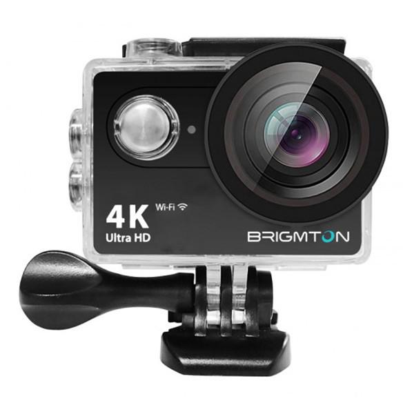 Sport-Kamera BRIGMTON BSC-10-HD4K Wifi Schwarz