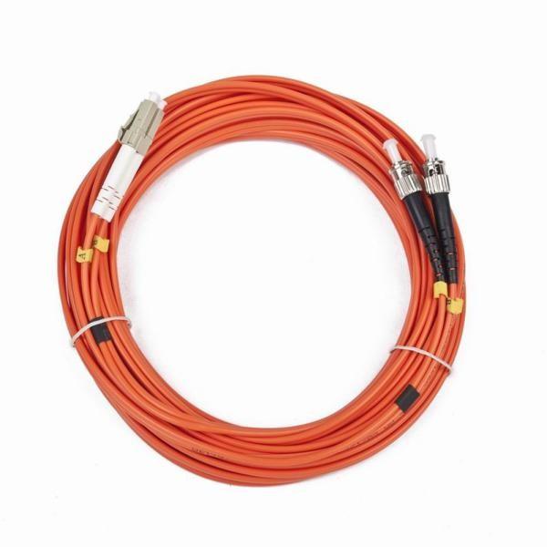 Optisches Glasfaser-Duxplex-Multimode-Kabel iggual IGG311561 LC / ST 10 m