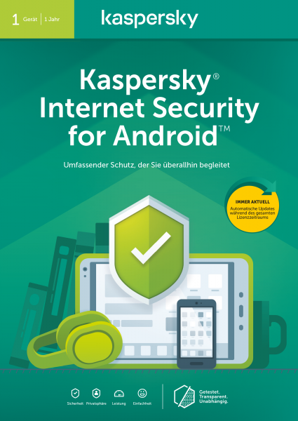 Kaspersky Internet Security for Android 2017 (1D)