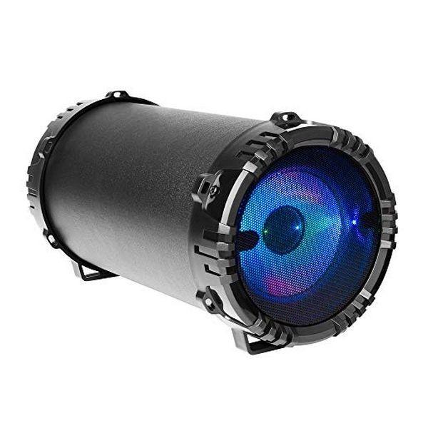 Tragbare Bluetooth-Lautsprecher Mars Gaming MSB0 LED RGB 10W Schwarz