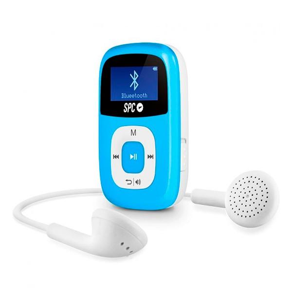 MP3 Player SPC 8668A 8 GB BLUETOOTH RADIO FM Blau