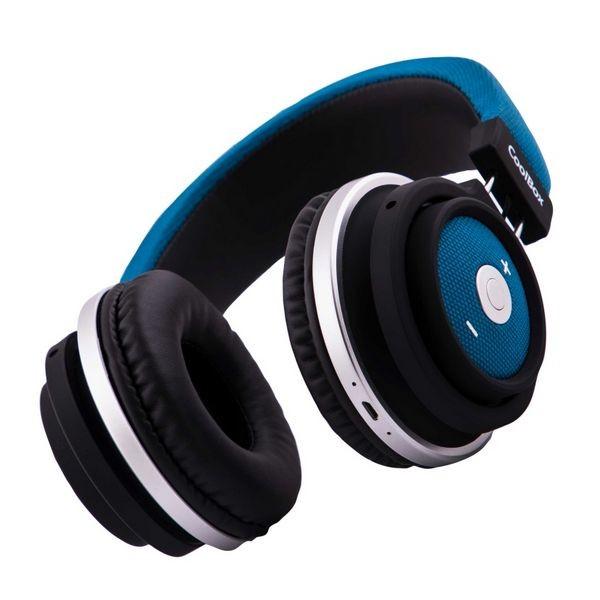 Bluetooth Kopfhörer mit Mikrofon CoolBox COO-AUB-10BL