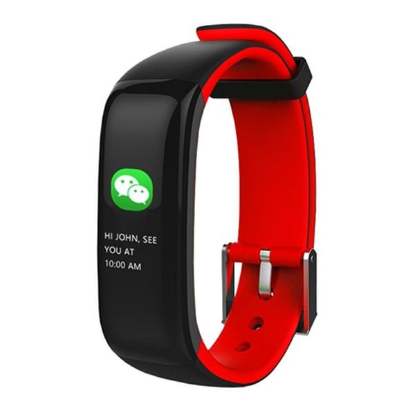 "Activity-Armband BRIGMTON BSPORT-15-R 0,96"" OLED 150 mAh Bluetooth 4.0 Rot"