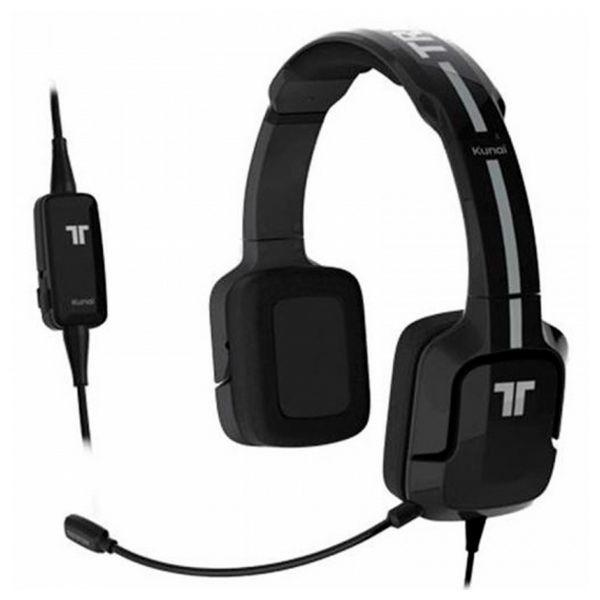 Gaming Headset mit Mikrofon Kunai Tritton ST24 Schwarz/weiß