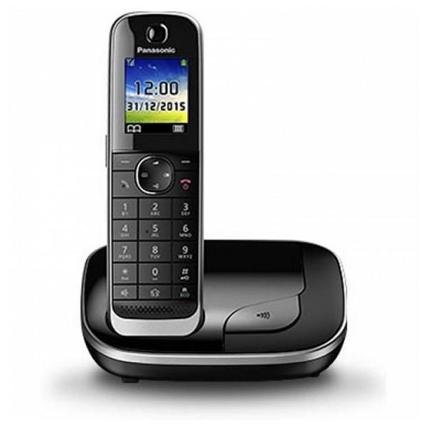"Kabelloses Telefon Panasonic KX-TGJ310SPB DECT 1,8"" TFT GAP Schwarz"