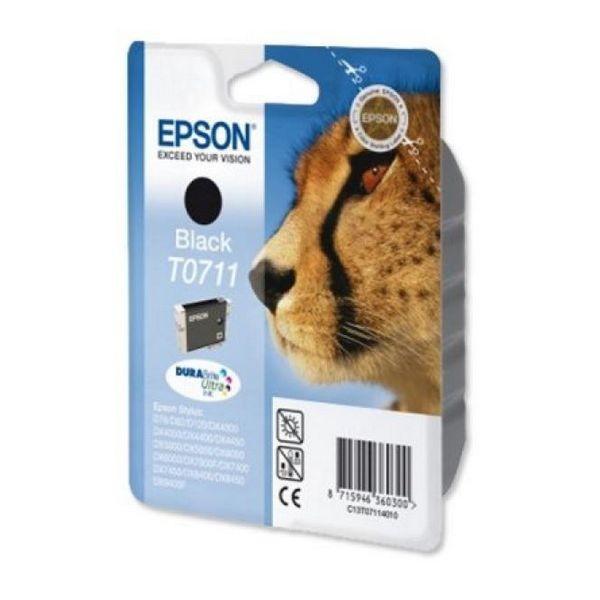 Original Tintenpatrone Epson C13T071140 Schwarz