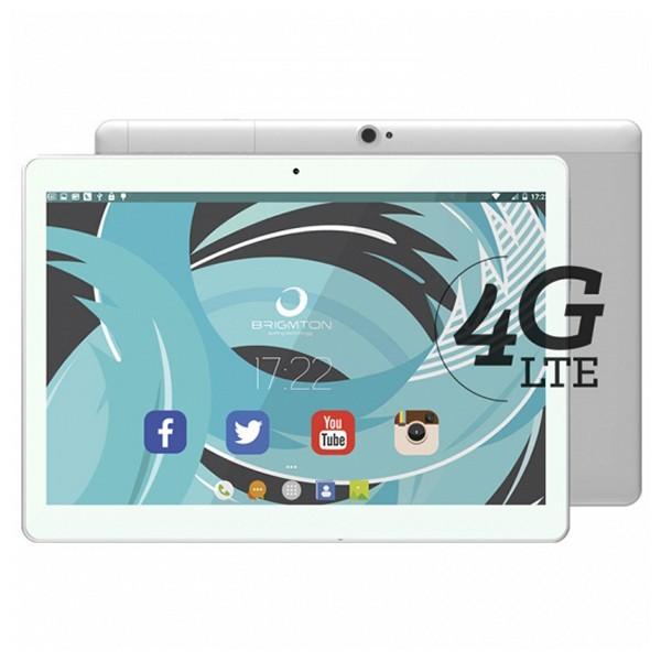 "Tablet BRIGMTON BTPC-1023OC4GB 10"" IPS Quad Core 1.5 GHz 32 GB 2 GB RAM DUAL SIM 4G 5000 mAh Weiß"