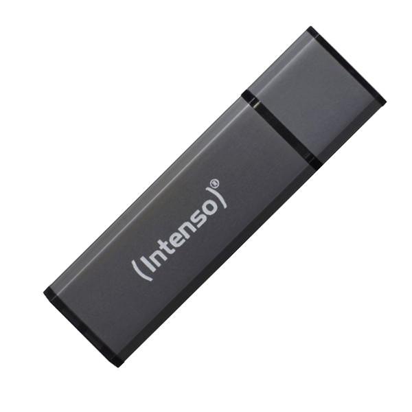 Pendrive INTENSO Alu Line 3521481 USB 2.0 32GB Schwarz