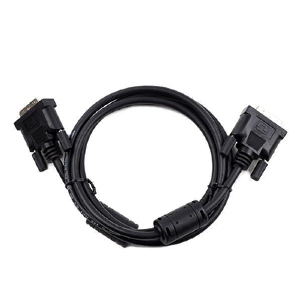 Digitalvideo-DVI-D-Kabel iggual PSICC-DVI2-BK- Dual Link 3 m Schwarz