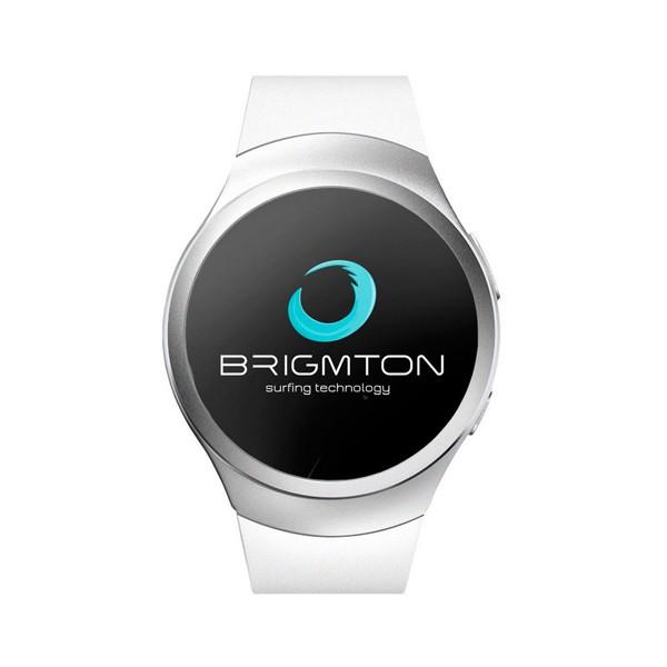 """Smartwatch BRIGMTON BWATCH-BT5 1.2"""" 54 g Weiß"""
