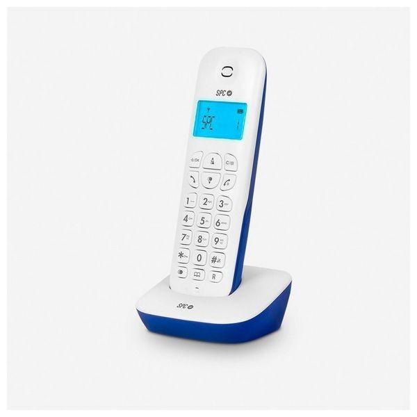 Kabelloses Telefon SPC Air 7300A DECT Weiß Blau