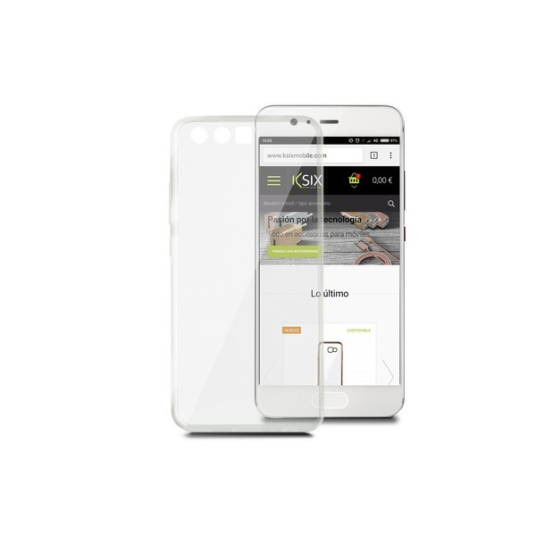 Handyhülle Huawei P10 Plus Flex Ultrafina Durchsichtig