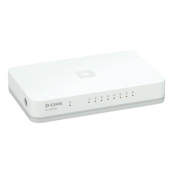 Schalter für das Büronetz D-Link GO-SW-8G 8 Puertos