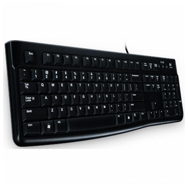 Tastatur Logitech K120 Schwarz