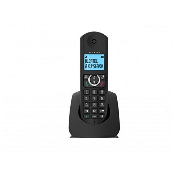 Kabelloses Telefon Alcatel F380S Schwarz
