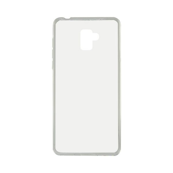 Handyhülle Samsung Galaxy A8+ 2018 Flex TPU Durchsichtig