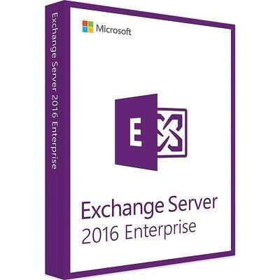 Windows Exchange Server 2016 Enterprise 500 UserCal
