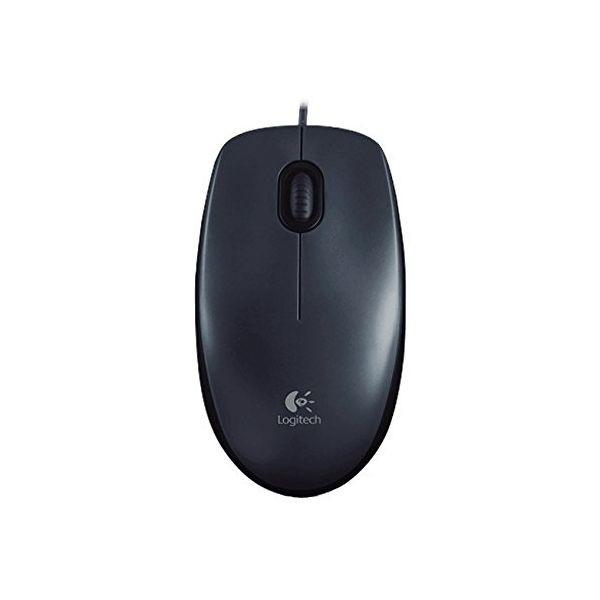 Logitech M100 optic Maus 1000dpi USB schwarz