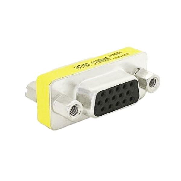 Adapter D-Sub HDB15 Female VGA NANOCABLE 10.16.0001