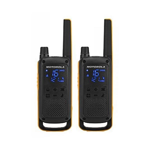 Walkie-Talkie Motorola T82 Extreme (2 Pcs) Schwarz Gelb