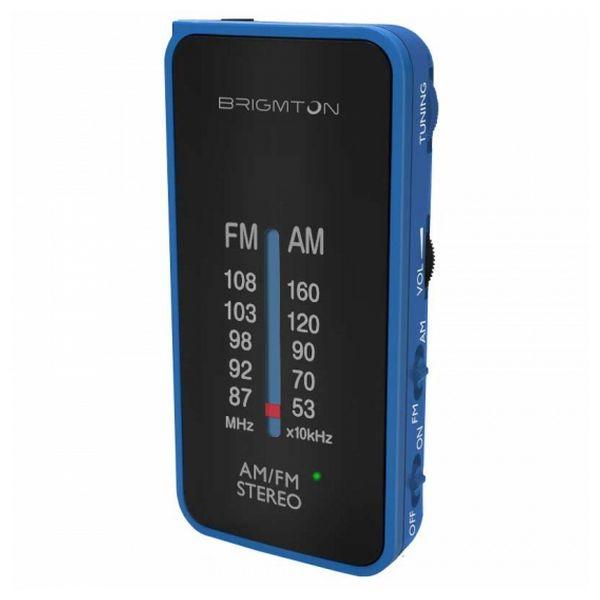 Tragbares Radio BRIGMTON BT224 Blau