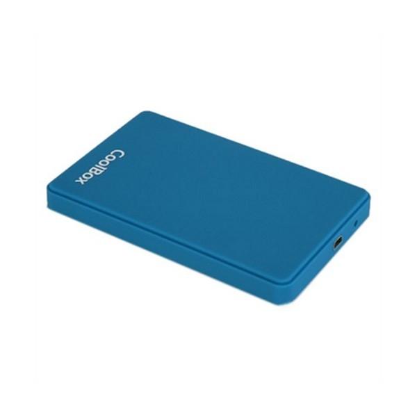 """Externe Box CoolBox COO-SCG2543-6 2,5"""" SATA USB 3.0 Blau"""