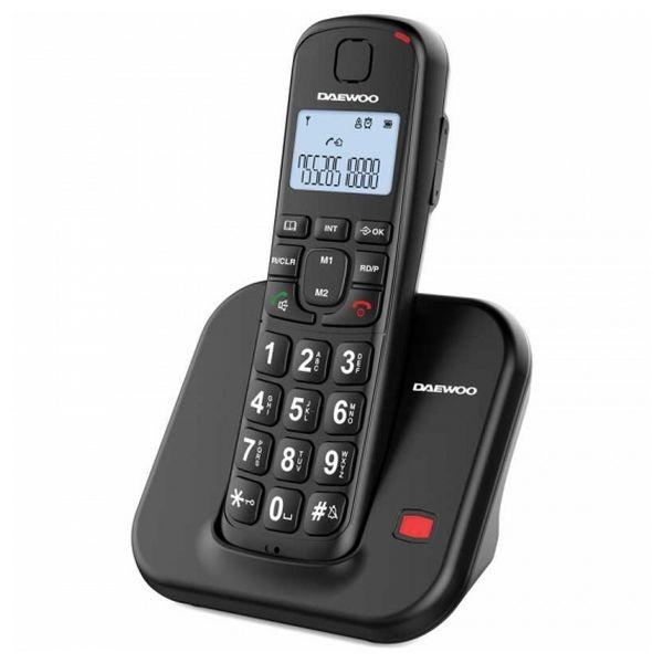Kabelloses Telefon Daewoo DTD-7200B Schwarz