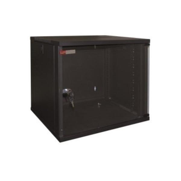 Wandschaltschrank WP WPN-RWA-06604- 6 U 540 x 450 x 310 mm Schwarz