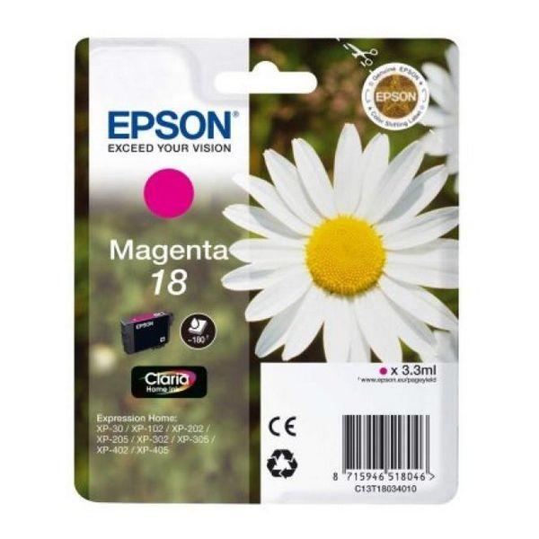 Original Tintenpatrone Epson C13T18034010 Magenta