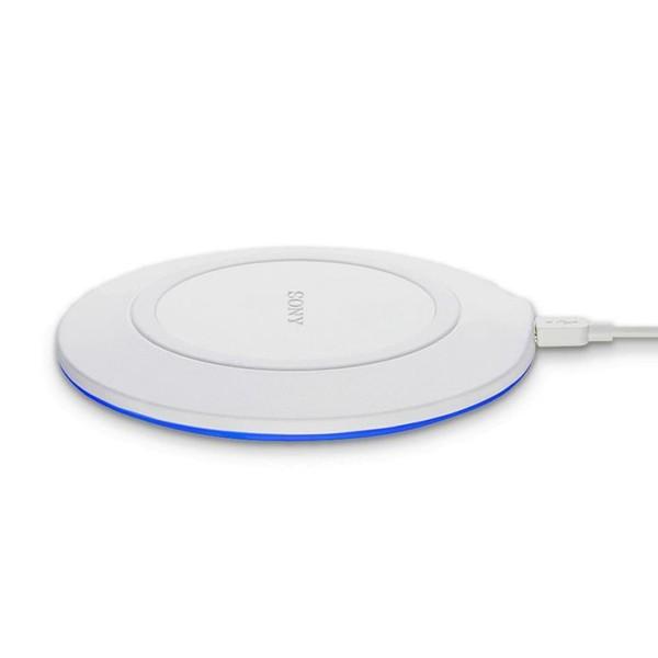 Wireless Smartphone Qi Ladegerät Sony CP-WP1 LED 5W Weiß