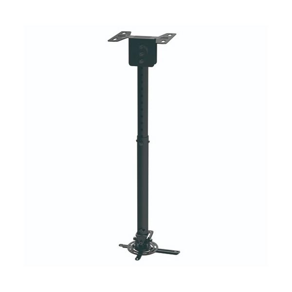 Verstellbare Deckenhalterung für Projektoren TooQ PJ3030TN-B 20kg 57,5 - 82,5 cm -20º/+20º 360º Schw
