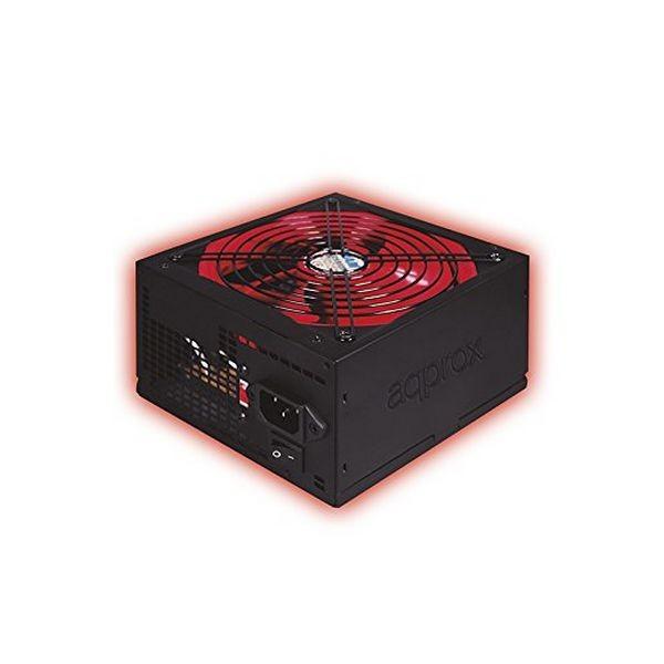 Spielnetzteil approx! APP800PSv2 14 cm APFC 800W Schwarz Rot