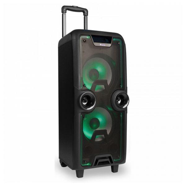Tragbare Bluetooth-Lautsprecher NGS WILDROCK LED 200W Schwarz