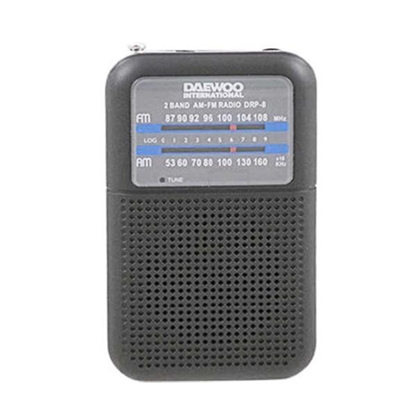 Tragbares Radio Daewoo DRP-8B Schwarz
