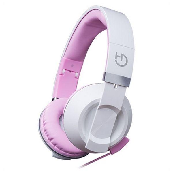 Kopfhörer mit Mikrofon Hiditec Cool Kids WHP010004 Rosa