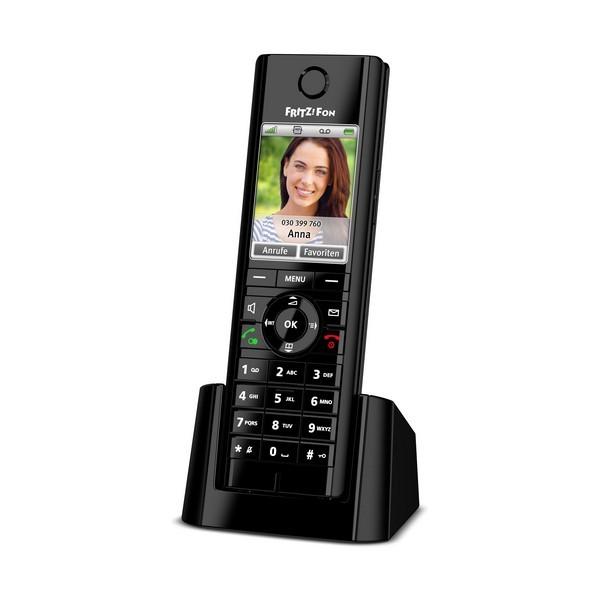 Kabelloses Telefon Fritz! Fon C5 DECT GAP Schwarz