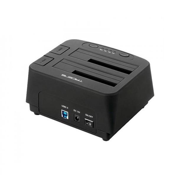 "Dual-Dockstation Tacens 5PORTUMDUO2 2.5""-3.5"" SATA USB 3.0 Schwarz"