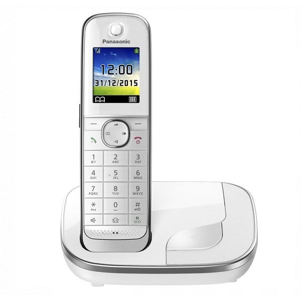 "Kabelloses Telefon Panasonic KX-TGJ310SPW DECT 1,8"" TFT GAP Weiß"