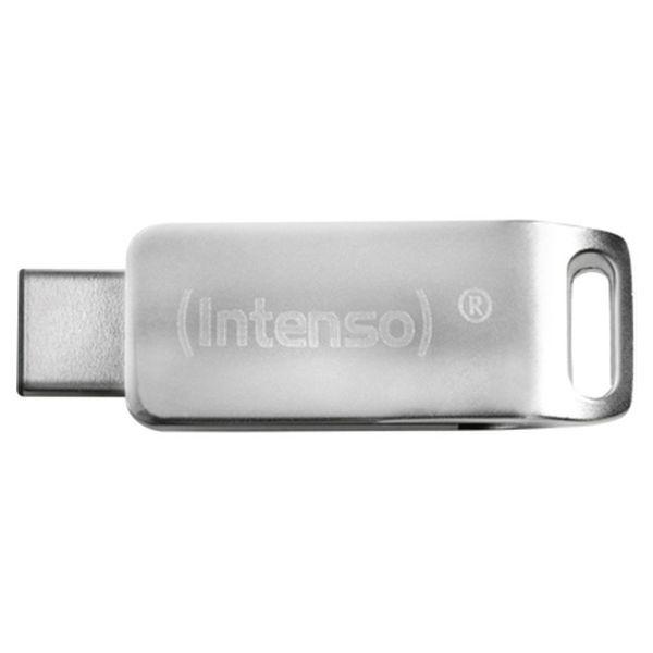 USB Pendrive INTENSO 3536490 64 GB Silberfarben
