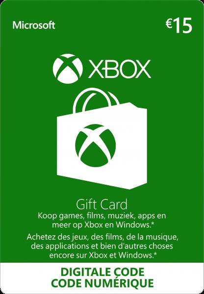 Xbox Gift Card 15 EUR (Agency)